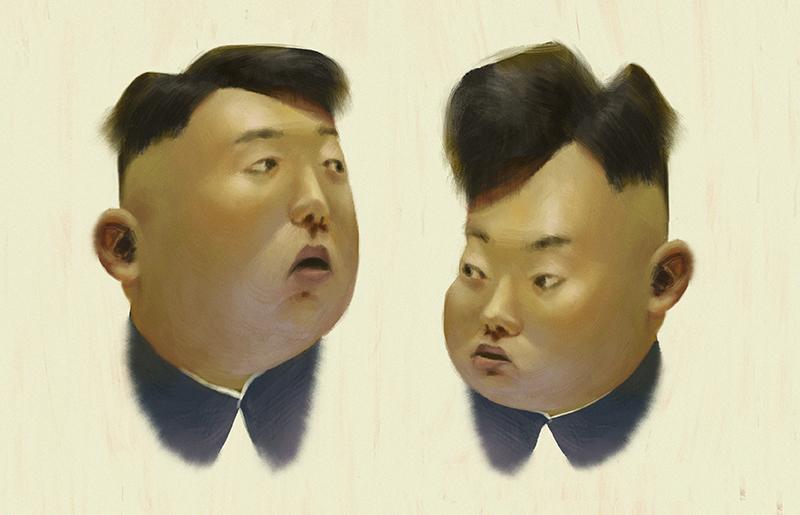 Kim & Kam by tomvanrheenen