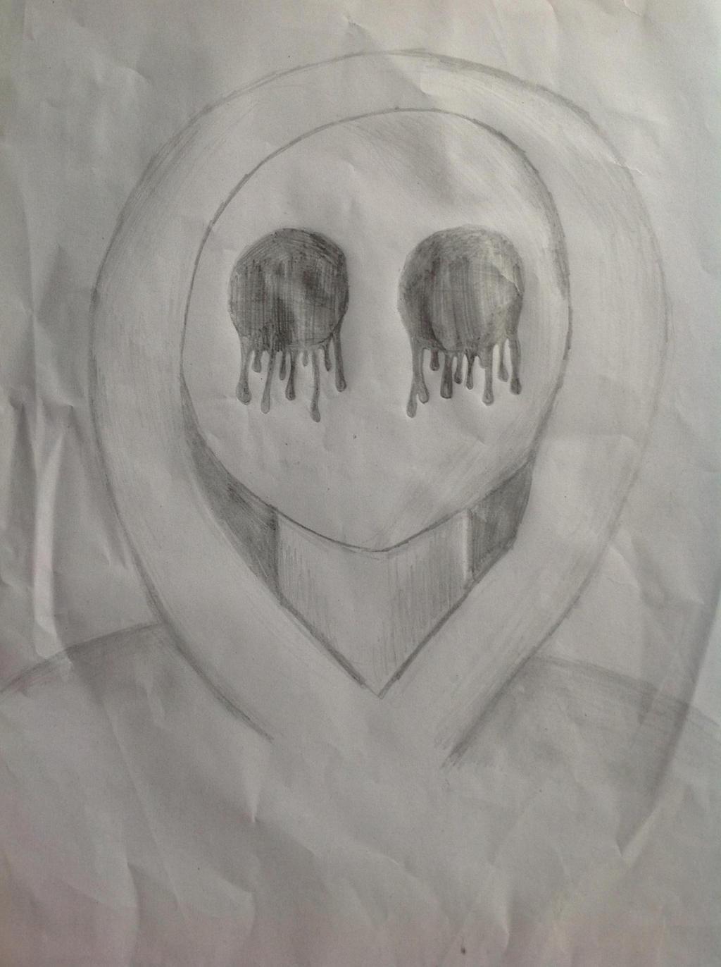 easy creepy pencil drawings - photo #49