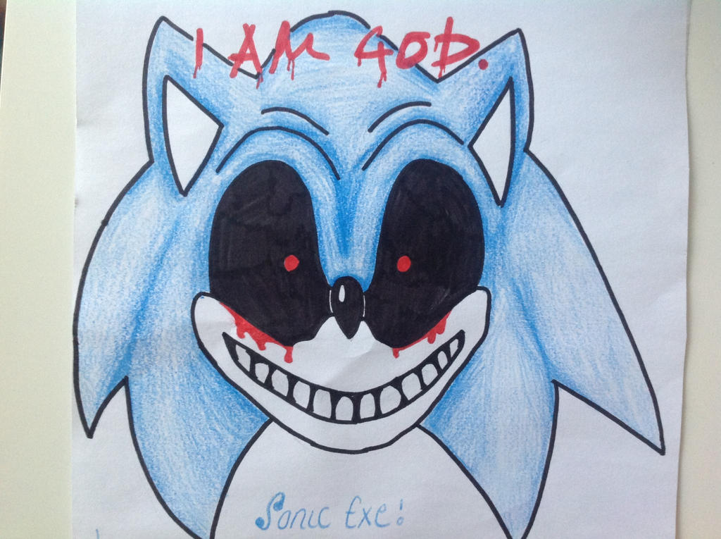 Creepypasta Sonic Exe Drawings – HD Wallpapers
