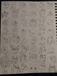 A ton of characters