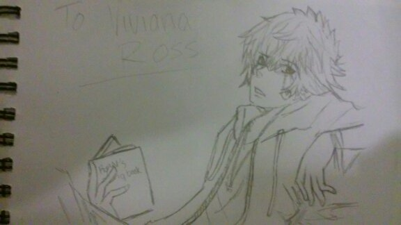 Ryan Ross PATD anime form Request:VIviana by doglover807