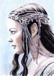 Liv Tyler Arwen mini-portrait