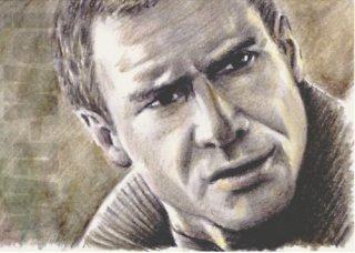 Harrison Ford mini-portrait by whu-wei