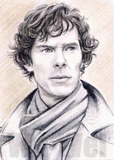 Sherlock miniature by whu-wei