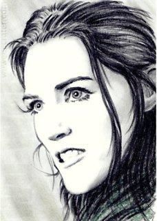 Katie McGrath mini-portrait by whu-wei