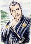 Toshiro Mifune mini-portrait