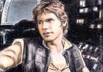 Han Solo mini-portrait