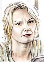 Jennifer Morrison mini-portrait by whu-wei