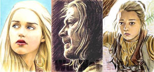 Game of Thrones sketchcards