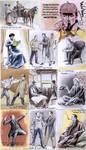 Sherlock Holmes sketchcards