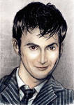 David Tennant mini-portrait