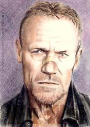 Michael Rooker mini-portrait by whu-wei