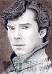 Benedict Cumberbatch miniature