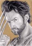 Wolverine Jackman9 by whu-wei