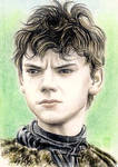 Thomas Brodie-Sangster miniature by whu-wei