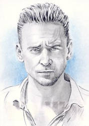 Tom Hiddleston miniature by whu-wei