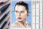 Rey sketchcard