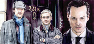 Sherlock sketchcards