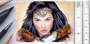 Wonder Woman sketchcard