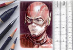 The Flash sketchcard