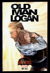 Logan sketch cover by whu-wei