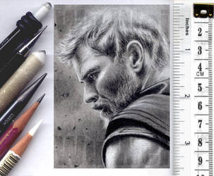 Thor sketchcard by whu-wei