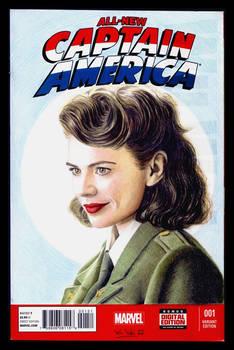 Agent Carter sketchcover