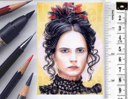 Penny Dreadful sketchcard