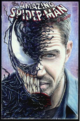 Venom sketch cover by whu-wei