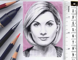 Doctor Who sketchcard