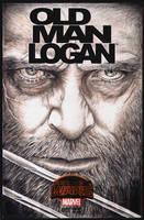 Hugh Jackman sketch cover by whu-wei