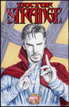 Doctor Strange sketch cover by whu-wei