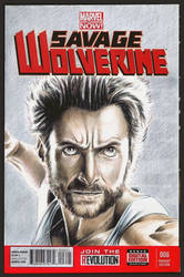 Wolverine sketch cover by whu-wei