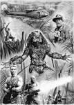 Predator drawing by whu-wei