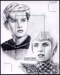 Star Trek: TNG sketchcard