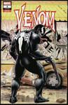 Venom/Walking Dead sketch cover