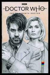 Doctor Who sketchcover