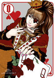 Queen of Hearts by StrangeParadise