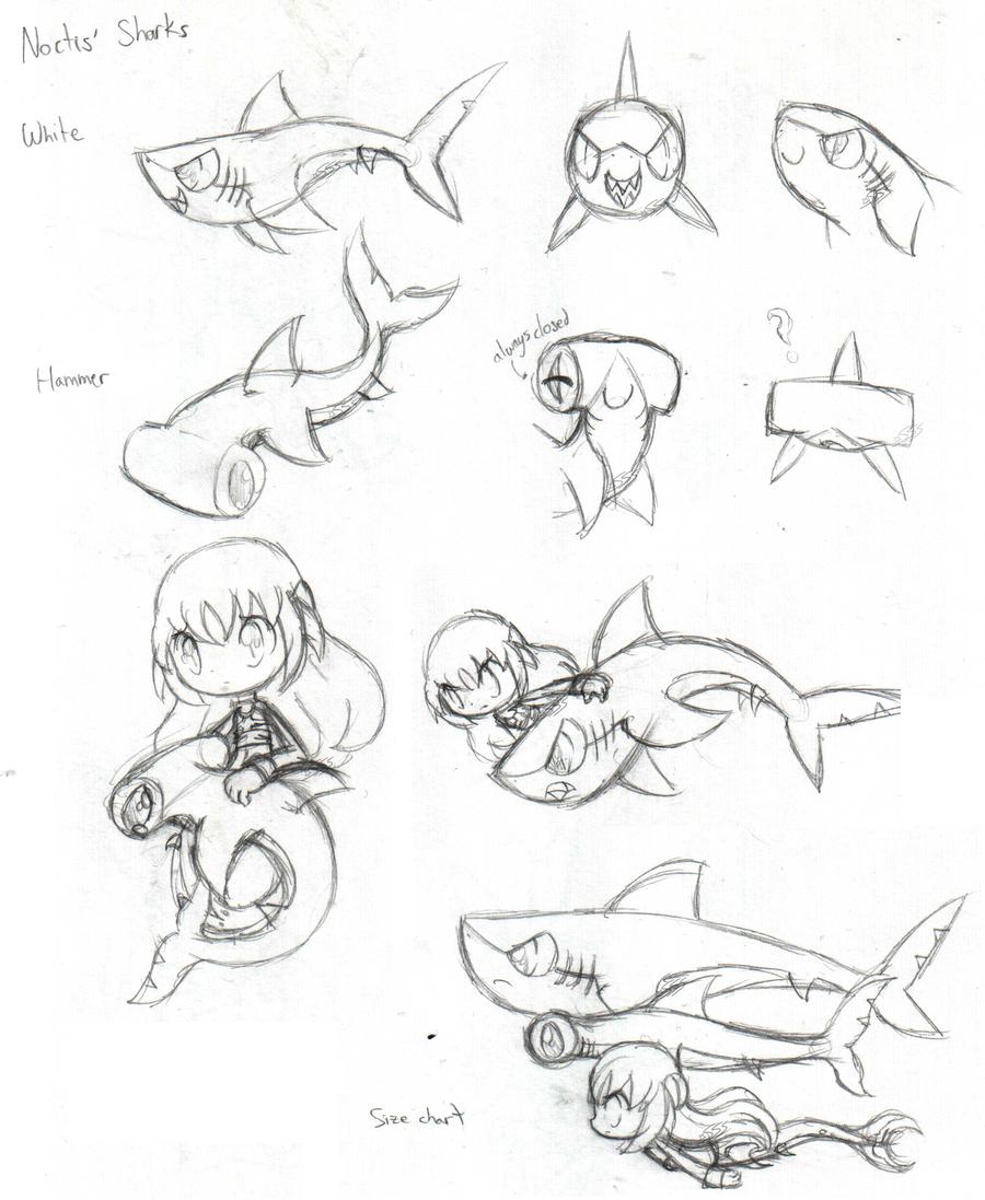 Noctis' Sharks by SilviShinyStar