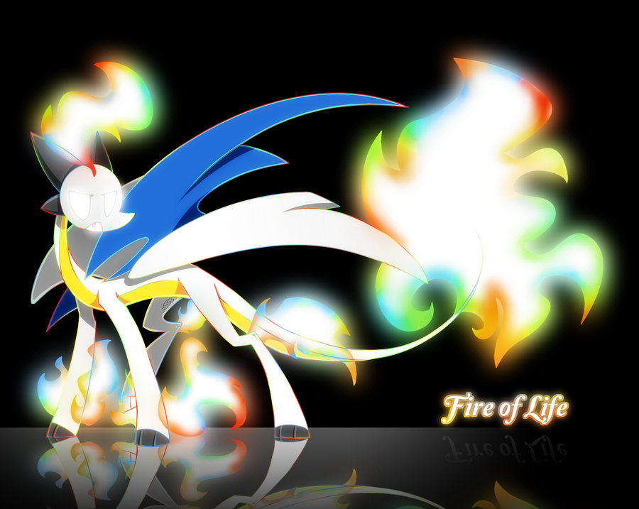 Fire of Life Form by SilviShinyStar