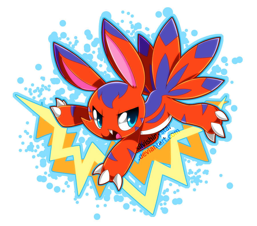Elecmon by SilviShinyStar