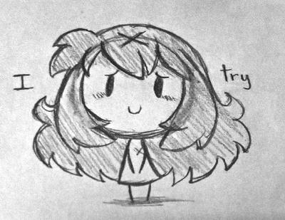 I try by SilviShinyStar