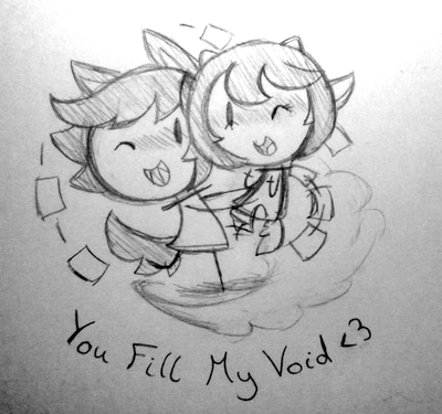 You Fill My Void by SilviShinyStar