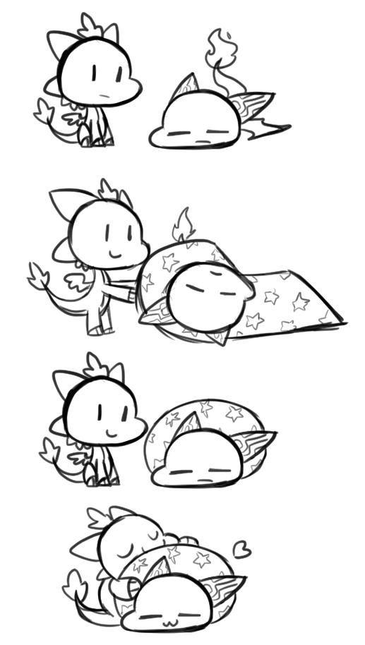 Day 45 - How to Make a Happy Burrito by SilviShinyStar