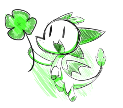 Day 60 - Lucky Clover by SilviShinyStar