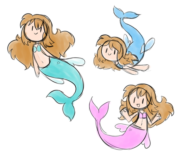 Mermaid Colors by SilviShinyStar