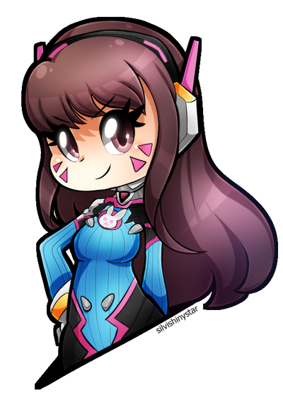 D.Va by SilviShinyStar