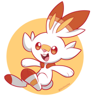 Scorbunny by SilviShinyStar