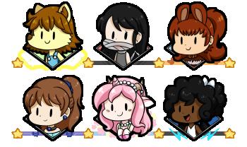 Character Icons 2 by SilviShinyStar