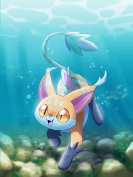 Water Kitty